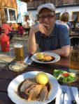 Essen nach Wanderung