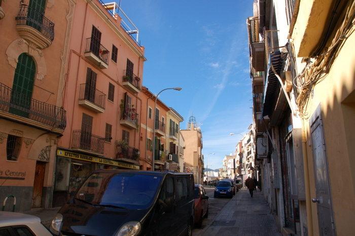 Straße in Mallorca