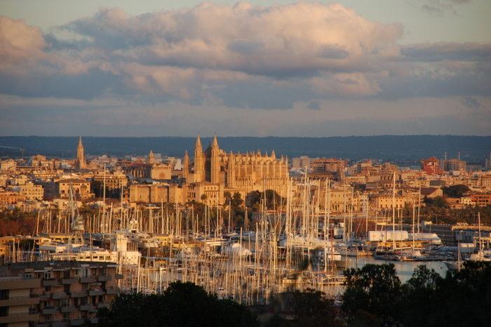 Mallorca im Abendlicht