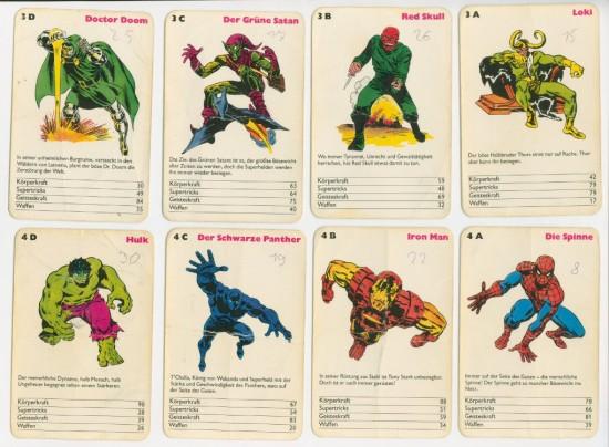 Mein Marvel Quartett Lehrerzimmer