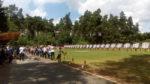 Bogenschützen beim Schießen