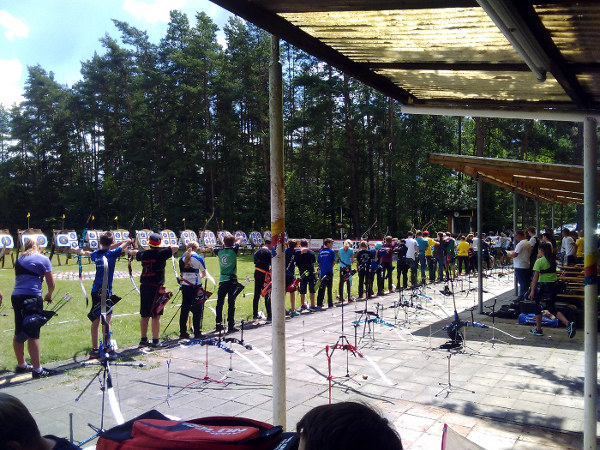 Schulmeisterschaft Bogenschießen Schützen