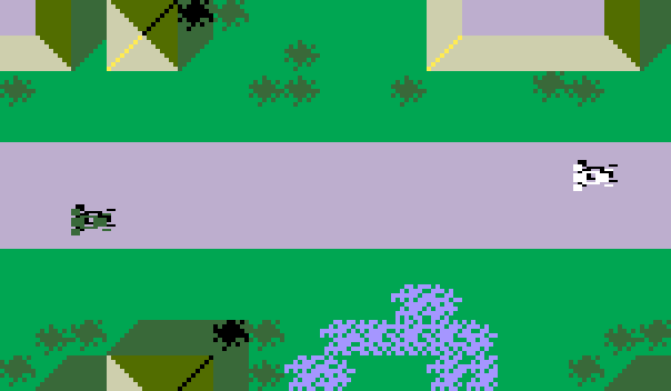 Screenshot Intellivision Autorace