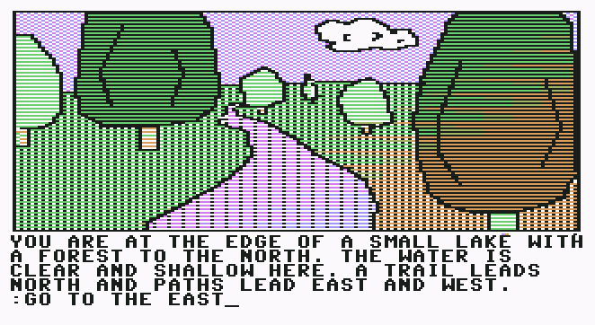 Screenshot C64 Blade of Blackpool