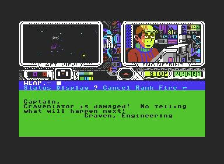Screenshot C64 PSI5 Trading Station