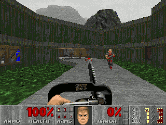 Screenshot MSDOS Doom