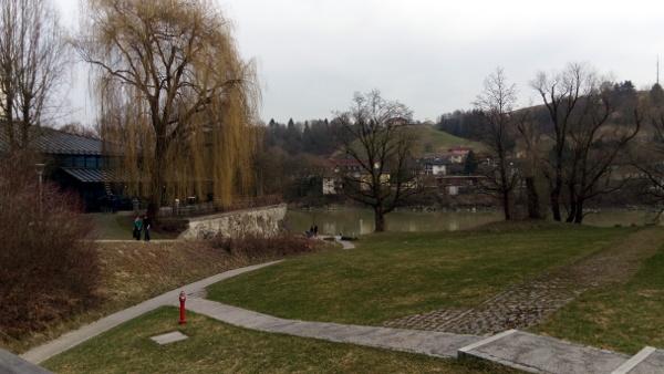 Passau Uni Außengelände