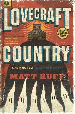 book cover matt ruff lovecraft country