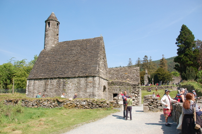Kirche in Glendalough