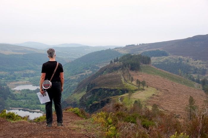 Landschaft mit Ausblick